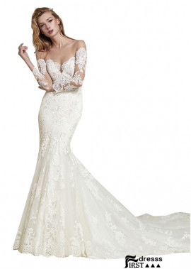 Firstdresss Lace Wedding Dress