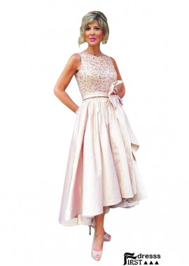 Firstdresss 2020 Inexpensive Tea Length Mother Of The Bride Dresses