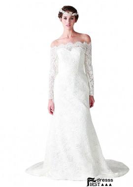 Firstdresss Plus Size Wedding Dress