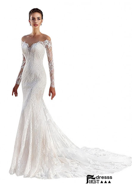 Firstdresss Long Sleeves Dress To A Wedding 2021