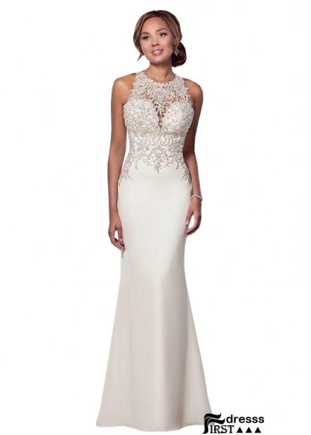 Firstdresss Sheath Garden Wedding Dresses Cheap