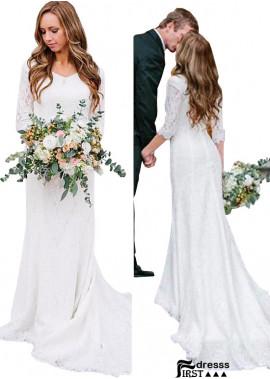 Firstdresss Beach Professional Wedding Dress US Sale