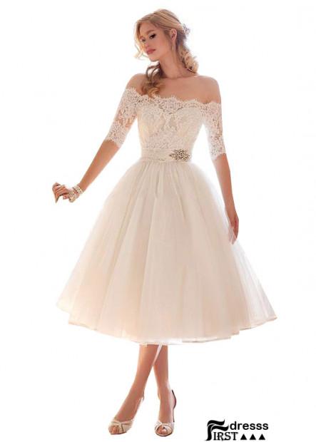 Firstdresss Beach Short Wedding Dresses Bush Style