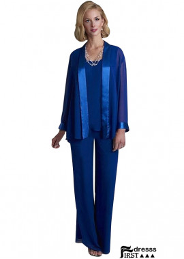 Firstdresss Mother Pantsuits With Jackets Women Wedding Wear