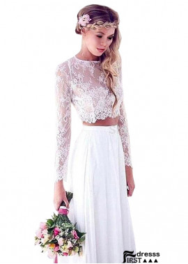 Ready To Wear Wedding Dress Long Sleeves