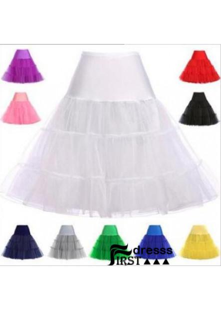 14 colors crystal yarn boneless skirt rock and roll skirt pettiskirt skirt wedding Petticoat