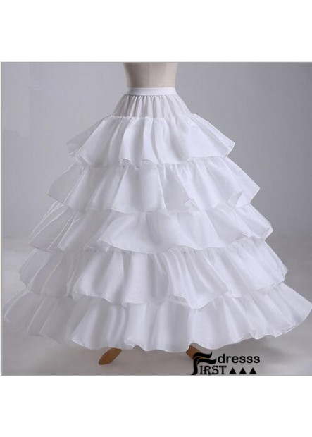 Skirt four steel ring five lotus leaf increase diameter skirt wedding dress super poncho wedding Petticoat