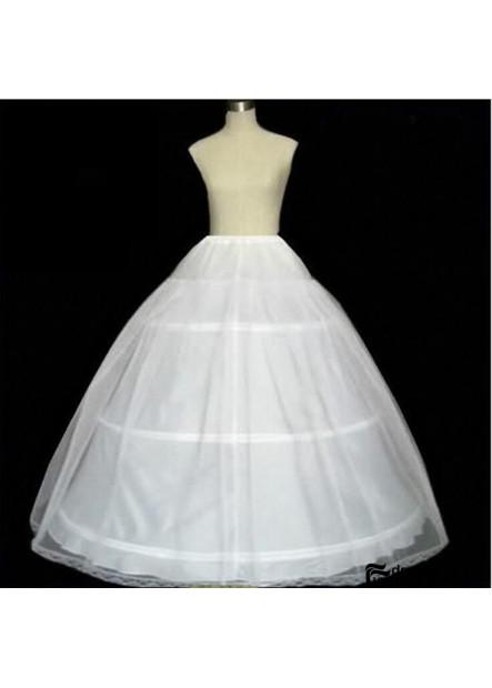 Three rings, One yarn, hard net skirt, lining cloth, elastic waist, petticoat