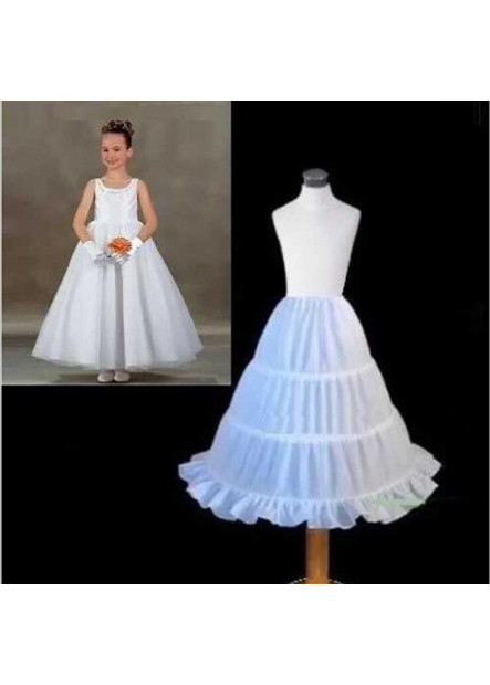 Yarnless flower girl dress skirt children's wedding dress skirt children's dance wedding lining Petticoat