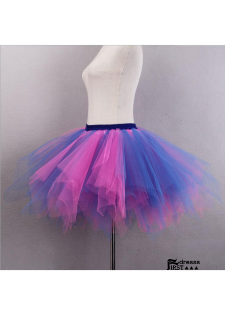 Mixed color versatile half-length pettiskirt Studio wedding photography half-length elastic short skirt Petticoat