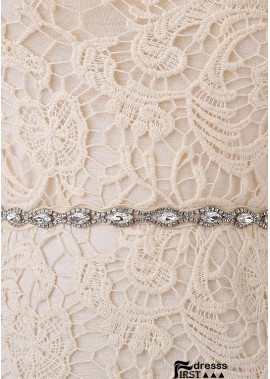 2020 New Rhinestone Code Chain Lace Handmade Sashes t901555987435